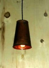 SALE $29.99 Handmade Rustic Skinny Bucket Pendant Light Bar Farm Western kitche