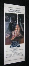 "Original STAR WARS Rare Video Style Insert 14"" X 36""  Rolled L@@K"