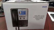 SNOM 821 VoIP Wirless Phone 12-Line LCD Gigabit SIP & Microsoft OCS 2346 -NEW