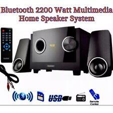BLUETOOTH Multimedia HOME HiFi SPEAKER System 2200W USB/SD/FM Heavy BASS -REMOTE