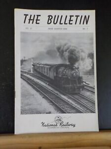 NRHS Bulletin 1946 3rd quarter Maine Central Gas Turbine New Orleans PS