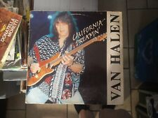 Van Halen ‎– California Dreamin' rare double set Live 2 LP