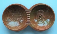 1965 Minnesota Twins World Series Red Wing Pottery Copper Ash Tray -