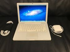 "Apple MacBook White 13"" A1181 160GB HDD 2.4GHz/ 2GB RAM/ WiFi/ Cam/ MB403LL/A #1"