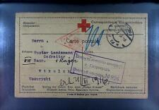 Camp 1916 Russia Siberia POW Kriegsgefangenenpost Rotes Kreuz Red Cross 243