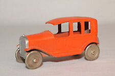 1920's Die Cast Taxi, Made in France, Orange Lot #1