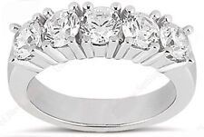 5 Stone Diamond Wedding Ring Anniversary Band 1.75 carat total G color Si1