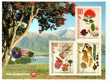 """New Zealand 2012 MS Opt. """"Indonesia 2012"""" ~ Mint"""