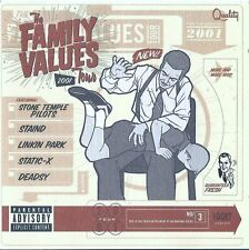THE FAMILY VALUES TOUR 2001 / VARIOUS ARTISTS / CD / NEUWERTIG