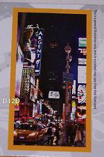 Cities Of The World New York Printed Cotton Velour Beach Towel 75cm x 150cm New