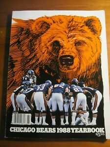 1988 Chicago Bears Yearbook *rp*