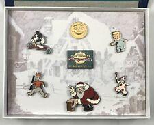 Disney Catalog Animated Short Boxed Pin Set #6 Night Before Christmas NEW IN BOX