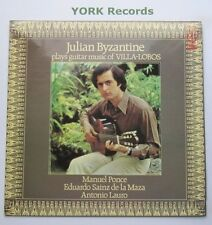 CFP 40209 - VILLA LOBOS - Guitar Music JULIAN BYZANTINE - Ex Con LP Record