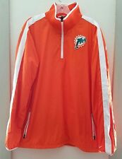 Miami Dolphins Nike On Field Team Issue Jacket Sz. M