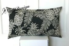NEW Tommy Bahama Indoor/Outdoor Tropical Palm Pineapple Cushion / Pillow Cover