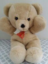 "Vintage Dakin Cuddles Bear Plush Stuffed Teddy Bear 15"" 1979 Light Brown Tan"
