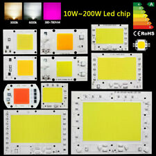LED Chip COB 10W 20W 30W 50W 100W 150W 200W white lamp spectrum bulb AC220V 110V