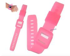 Cinturino da polso rosa silicone cover case braccio per Ipod Nano 6 generazione