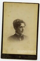 Cabinet Card Photo Lady Duluth MN