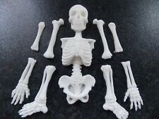 Edible fondant Skeleton for Halloween cake/cupcake toppers