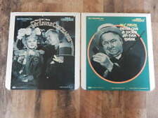 Vintage CED Videodisc LOT-My Little Chickadee, Never Give Sucker Even Break-RARE