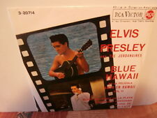 "elvis presley""blue hawaii vol.2""ep7""or.espagne.rca:3.20714.de 1963-black label"