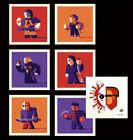 Tom Whalen 4x4 SLASHERS 6-screenprint set + SKETCH Edition of 100 NEW 🚚✅