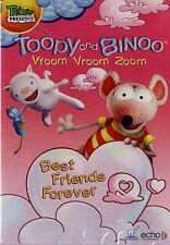 NEW DVD // TREEHOUSE // TOOPY AND & BINOO // BEST FRIENDS FOREVER // VROOM ZOOM