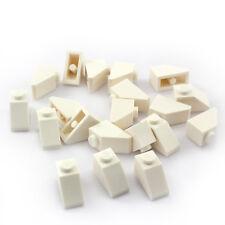 LEGO Dachstein 3040: 20x Schrägstein 45° 2x1 weiss (slope) NEU
