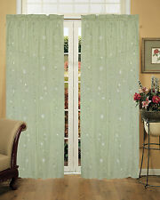 Green Curtains Drapes And Valances Ebay