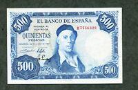 BILLETE 500 PESETAS 1954     SERIE H7756328  SC - SC