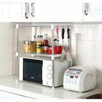 Kitchen Storage Solutions Kitchen Storage Rack 2Tier Microwave Oven Storage Rack