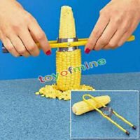 Corn Cutter Kernal Stripper for Corn on The Cob Stainless Steel Teeth Useful