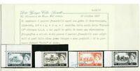 s33315 UK GREAT BRITAIN 1959 MNH QEII Castles 4v Cat. 351A/354A De La Rue WMK