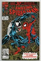 Amazing Spider-Man 375 Marvel 1993 NM+ 9.6 Venom Lethal Protector 30th Foil