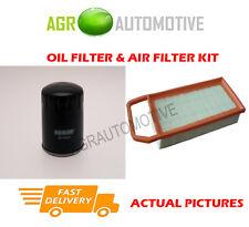PETROL SERVICE KIT OIL AIR FILTER FOR PEUGEOT 407 SW 2.2 158 BHP 2004-05