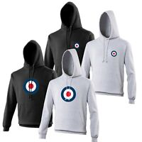 RAF Roundel Mod Hoodie Vespa Motorcycles Ska Punk VARIOUS SIZES & COLOURS