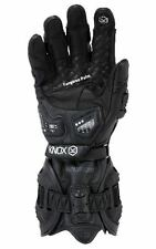 KNOX HANDROID MK3 LEATHER MOTORCYCLE GLOVE - LARGE - NEVER WORN, BRAND NEW.