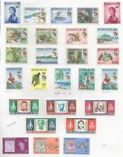 Elizabeth II (1952-Now) Mint Hinged British Colonies & Territories Multiple Stamps