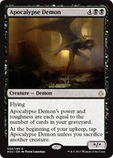 APOCALYPSE DEMON Hour of Devastation MTG Black Creature — Demon Rare