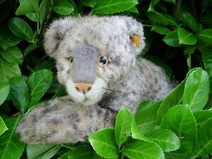 Steiff Leopard Snobby  065804  -   MIT  KNOPF  UND  FAHNE  -