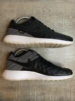 Nike Roshe Tiempo VI FC Black Leather Star Soccer Shoes [852613 002] - Size 8.5