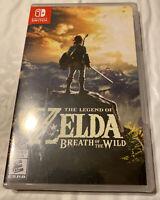 Legend of Zelda: Breath of the Wild (Nintendo Switch, 2017) NEW FACTORY SEALED