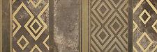 Impression Gold Stripe braun 25x75 Feinsteinzeug Natursteinoptik 1 Stück