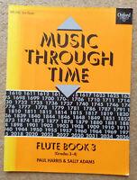 Music Through Time Flute Book 3 (Grades 3-4) - Paul Harris & Sally Adams: Clean