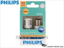 NEW! PHILIPS 1157A ULTINON LED AMBER BULBS 1157AULAX2 | PACK OF 2