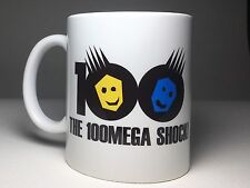 The 100 Mega Shock! Arcade Ceramic Coffee Cup Mug 11oz Neo Geo AES MVS NEW