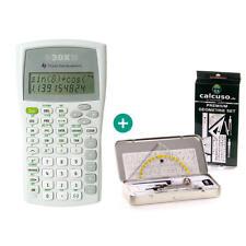 TI 30 X IIB Taschenrechner + Premium GeometrieSet