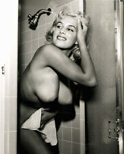 VINTAGE NUDE BLONDE BUSTY JUNE WILKINSON 8.5 X 11 BEAUTIFUL QUALITY GUARANTEED!!