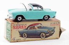 1/43 ème  NOREV originale SIMCA PLEIN CIEL bleue / jouet ancien